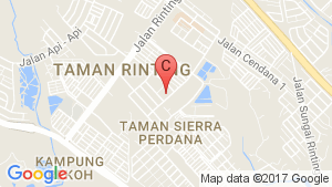 TAMAN RINTING location map