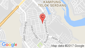 TAMAN PERLING location map
