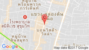 2 Bedroom Condo for sale in KHUN by YOO inspired by Starck, Khlong Tan Nuea, Bangkok near BTS Thong Lo location map
