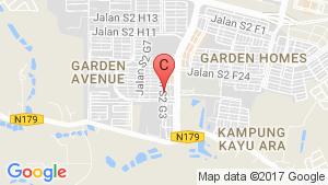 Kalista 2 @Seremban2 location map