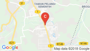 Retail Space for sale in Selangor location map