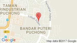 Puteri Hills Luxury Town Villa & Condominium location map