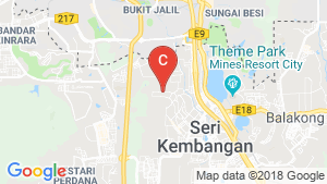 Warehouse / Factory for sale in Selangor location map