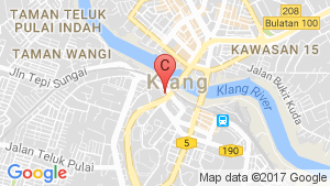 Kencana Square location map