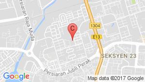 Lambaian Residence location map