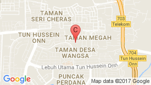 YOU City Cheras location map