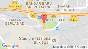 The Rainz @ Bukit Jalil location map