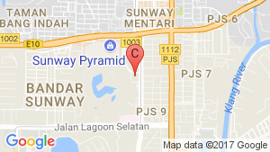 The Pinnacle Sunway location map