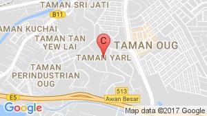 TAMAN YARL location map
