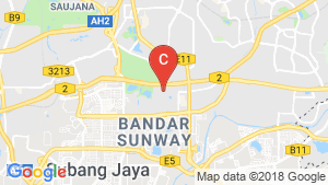 Sunway Suriamas Condominium location map