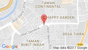 The Riyang Condominium @ Happy Garden location map