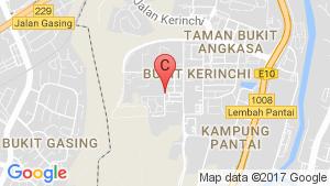 Secoya Residences Condominium Pantai Sentral Park Phase 2 location map