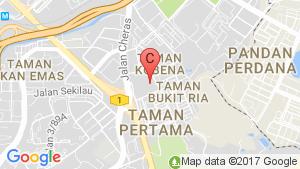 VISTARIA RESIDENSI location map