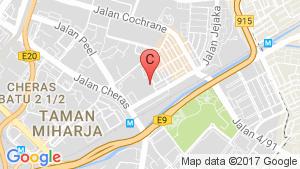 Lavile Kuala Lumpur location map