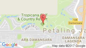 Tropicana Gardens-Cyperus location map
