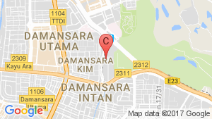 Glomac Damansara Residence TTDI location map