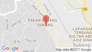 Sunway Subang location map