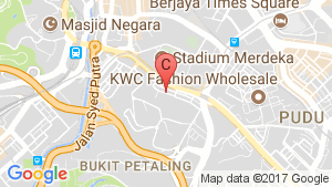 Opus KL location map