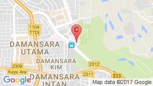 TTDI Segaris location map