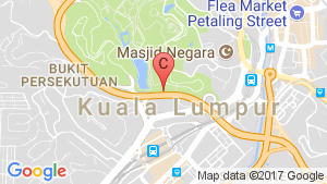 KL Gateway location map