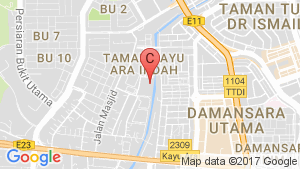 Office for rent in Selangor location map