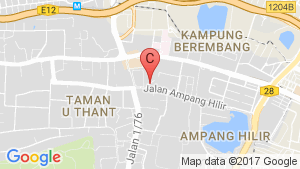 Seri Ampang Hilir Residence location map