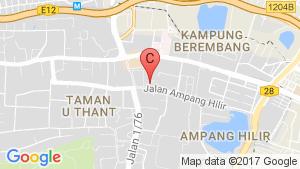Seri Ampang Hilir Residence location map