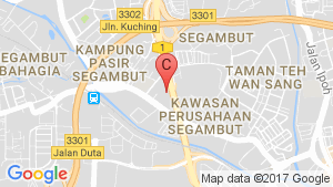 Flexus location map