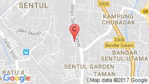 1 Sentul Condominium location map