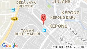 Nova @ Sri Utara location map