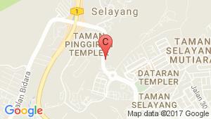 Kota Kemuning location map
