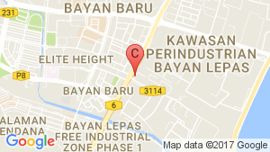 3 Bedroom Condo for sale in The Clovers, Bayan Lepas, Pulau Pinang location map