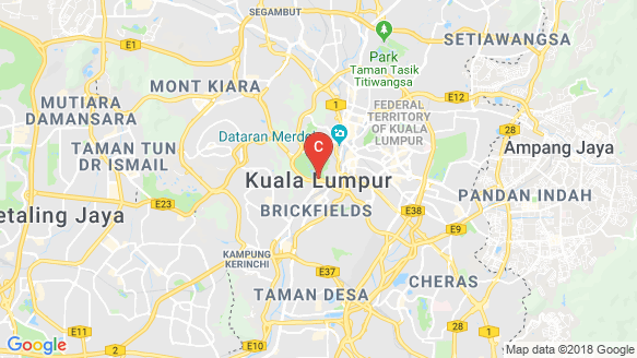 VVV Suites in Menara Shell, KL Sentral location map