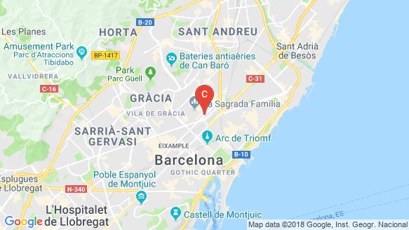Aragó location map