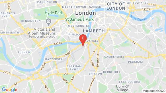 Embassy Gardens location map