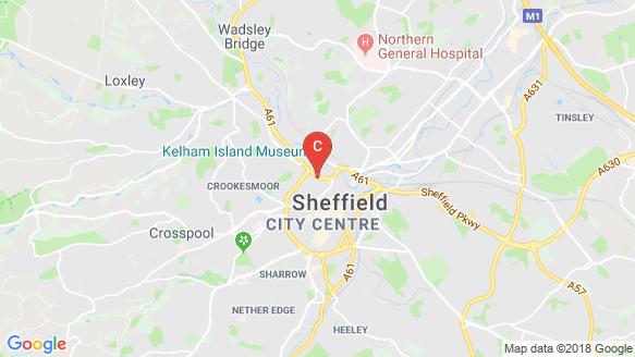 Allen Street location map
